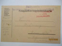 Österreich Tschechien Brünn, Schützenwehr Bürgerl. Schützengesellschaft  (53208) - Guerre 1914-18