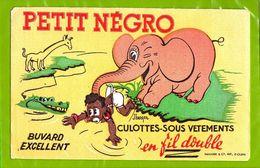 Buvard & Blotting Paper :  Culottes Sous Vetements Petit Negro  Elephant  Signe J. Berger - Textile & Vestimentaire