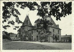 Haute - Bodeux -- Ancien Château.    (2 Scans) - Trois-Ponts