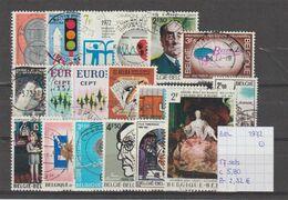 België 1972 - 17 Sets Gest./obl./used - Usati