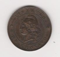 1 CENTAVO 1890 BRONZE - Argentina