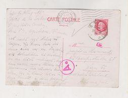FRANCE PARIS 1944 Censored Postal Stationery To Austria - Francia