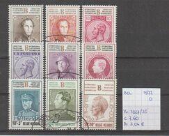 België 1972 - Yv./OCB 1627/35 Gest./obl./used - Usati