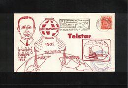 Italy / Italia 1962 Space / Raumfahrt Telstar Satellite Interesting Letter - Europe