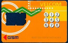 BELARUS - Weißrussland - Biélorussie VELCOM GSM (SIM) CARD USED WITHOUT CHIP MODULE - Belarus