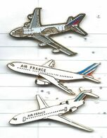Avions Air France Lot 3 Pins - Luftfahrt