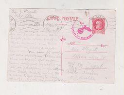 FRANCE ST. MALO 1943 Censored Postal Stationery To Croatia - Francia