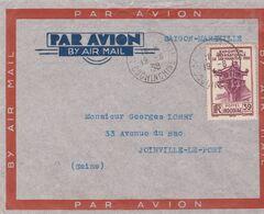 1935 - 1939 - GROS LOT DE 15 Enveloppes Et 1 CP Air France - Surtout Par Avion - INDOCHINE Française - Lettres & Documents