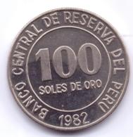 PERU 1982: 100 Soles De Oro, KM 283 - Pérou