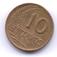 PERU 1965: 10 Centavos, KM 224 - Pérou