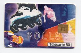"Télécarte Sreet Culture 2  "" Roller"" - Cultura"