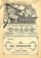 ANCIENNES PARTITIONS DE MUSIQUE -  IL MANDOLINO : GIORNALE DI MUSICA QUINDICINALE - Al Veglione - Année 1928 - Musique