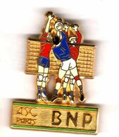 Pin's ASC BNP  Volley Ball Zamac  Ballard - Banken