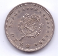 URUGUAY 1960: 1 Peso, KM 42 - Uruguay