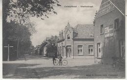 Calmthout - Statiestraat - Geanimeerd - 1912 - F. Hoelen, Cappellen 6432 - Kalmthout