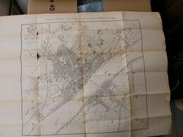 Vieux Plan Des Ponts Et Chaussées De  BLOIS Loir Et Cher Fin 19 ème Début 20 ème - Karten