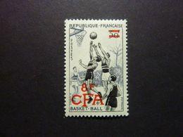 REUNION, Année 1955-56, YT N° 326 Neuf MNH** - Ongebruikt