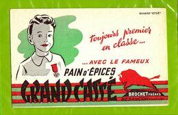 BUVARD : Pain D'Epices GRAND CASSE  Brochet Besançon - Gingerbread