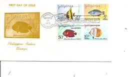 Philippines - Poissons ( FDC De 1972 à Voir) - Philippines