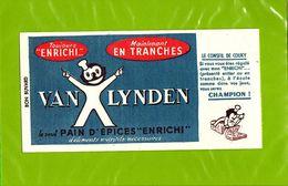 BUVARD : Pain D'Epice Enrichi VAN LYNDEN - Gingerbread