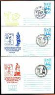 "BULGARIA / BULGARIE - 1980 - Ol.Som.G's - Moscou'80  - 9 Spec. P.St. Avec Signe Fiscal - ""leone"" - Rare - Summer 1980: Moscow"