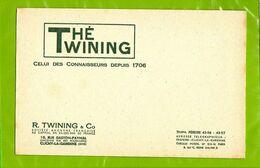 BUVARD : The TWINING  Celui Des Connaisseurs - Koffie En Thee