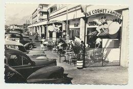 BERCK - Commerces Le Cornet D'amour Et Moder'n Photos...anciennes Voitures - Berck