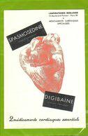 Document Papier SPASMOSEDINE  Et DIGIBAINE  Pour Le Coeur - Drogerie & Apotheke