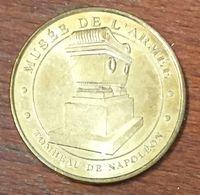 75 PARIS TOMBEAU DE NAPOLÉON MUSÉE DE L'ARMÉE MÉDAILLE MONNAIE DE PARIS 2010 JETON TOURISTIQUE MEDALS COINS TOKENS - Monnaie De Paris