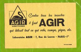 BUVARD : Contre Les Insectes  Il Faut Agir Laboratoire - Agricultura