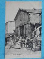 17 : MARENNES : Le MARCHE COUVERT , Animée  , C.P.A.,en Bon état - Marennes