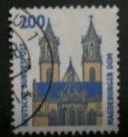 ALLEMAGNE ALEMANIA GERMANY DEUTSCHLAND BUND 2003 1993 SEHENSWÜRDIGKEITEN 200 PFG USED MI 1665 YT 1493 SC 1534 SG 2216A - Gebraucht