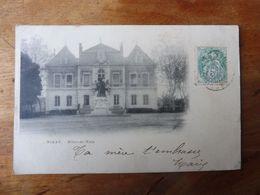 NOLAY - Hôtel De Ville (dos Non Divisé ) écrite En 1909 - Autres Communes