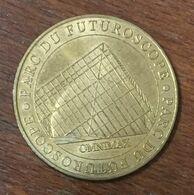 86 FUTUROSCOPE DANSE AVEC LES ROBOTS MÉDAILLE MONNAIE DE PARIS 2007 JETON TOURISTIQUE MEDALS COINS TOKENS - Monnaie De Paris