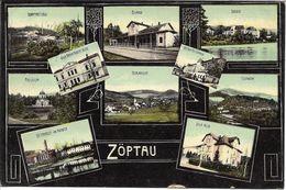 1908 - SOBOTIN  Zoptau  Okres SUMPERK , Gute Zustand, 2 Scan - Tsjechië