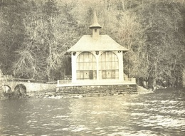 Echt-Foto 11x8cm - URI - VIERWALDSTÄTTERSEE - Tellskapelle - 1905 - 1907 - Fotoarchiv LHUILLIER - UR Uri