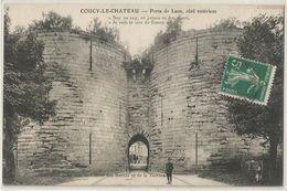 Coucy Le Chateau Porte De Laon Cote Exterieur - France
