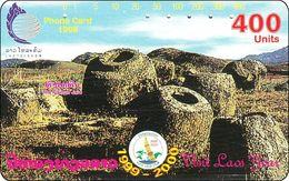 Laos Phonecard Tamura  Lao Visit Year - Laos