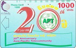 Laos Phonecard Tamura  Apt 20Th Year - Laos