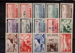 Algérie PA N° 1 Au 14 + 1A Timbres Neufs ** 15 Valeurs - Luchtpost