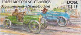 Ireland 1989 Irish Motoring Classics Booklet ** Mnh (48861) - Hojas Y Bloques