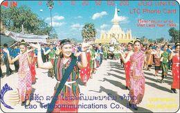 Laos Phonecard Tamura  That Luang Festival - Laos