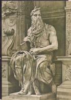 C. Postale - Roma - Michelangelo - Mosè - Circa 1970 - Non Circulee - A1RR2 - Musées
