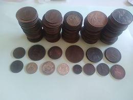 Grande-Bretagne - Lot De Monnaies D'avant 1946 - Grossbritannien
