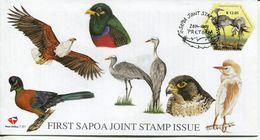 South Africa Südafrika Offizieller/official FDC # 7.81 - Fauna Birds - FDC