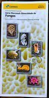 Brazil Edital 2019 08 Diversity Of Fungi Mercosur Brochure Without Stamp - Ungebraucht
