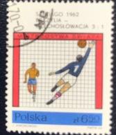 Polska - Poland - P1/14 - (°)used - 1966 - WK Voetbal - Michel Nr.1671 - 1962 – Chili