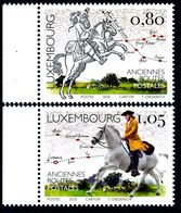 """LUXEMBOURG/Luxemburg, EUROPA 2020 """"Ancient Postal Routes"""" Set Of 2v** - 2020"""