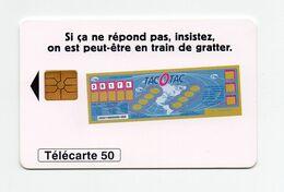 "Télécarte ""TACOTAC"" - Giochi"