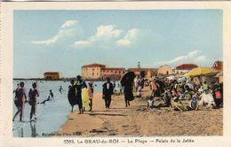 Le Grau-du-Roi  -  La Plage  -  Palais De La Jetée  -  CPA - Le Grau-du-Roi